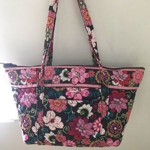 Vera Bradley Mod Pink Floral Travel Bag